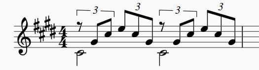 四 分 の 四拍子